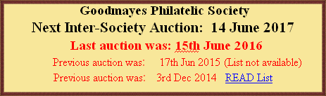 Goodmayes Philatelic Society