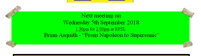 Next meeting on 